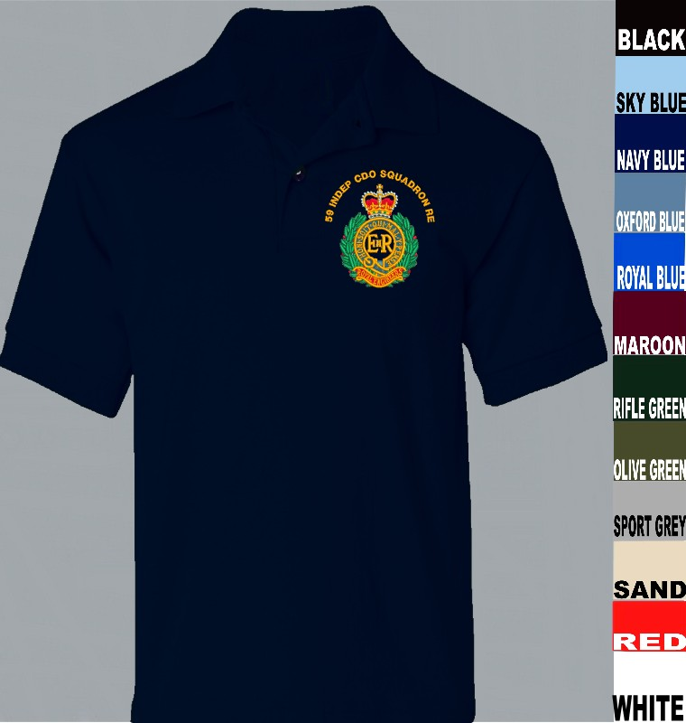Royal Engineers Diver Performance Polo