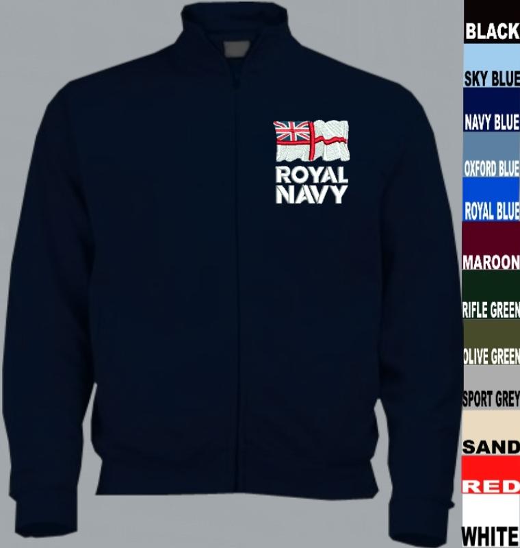 HMS Bulwark Full Zip Fleece