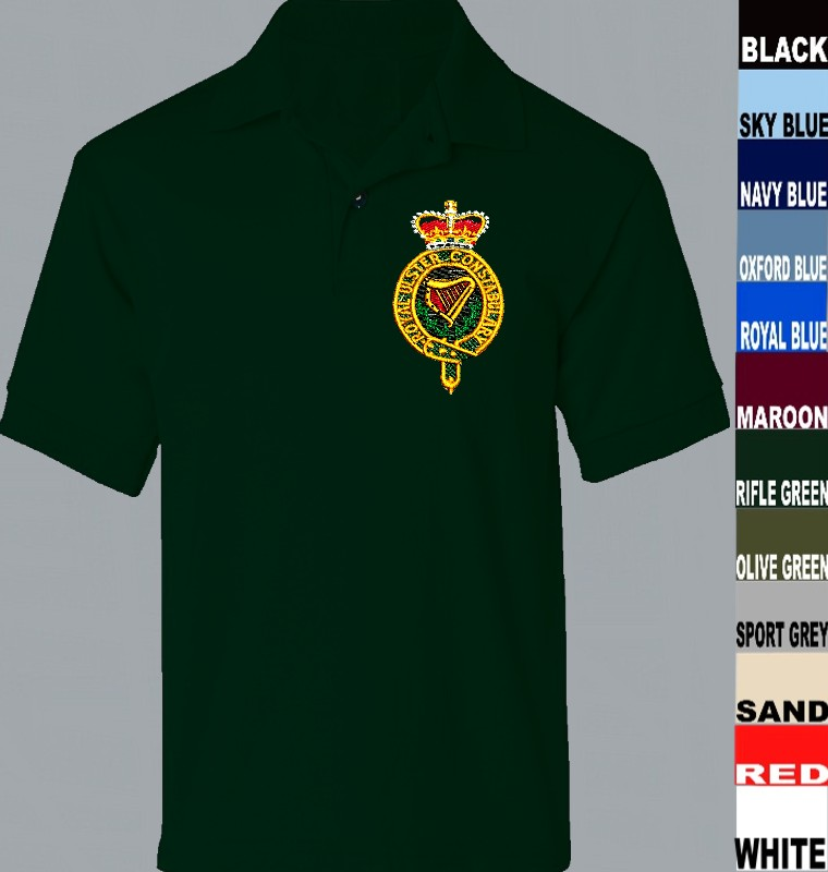Royal Ulster Constabulary Polo Shirt Embroidered Logo