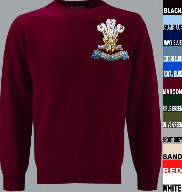 10th Royal Hussars Sweatshirt