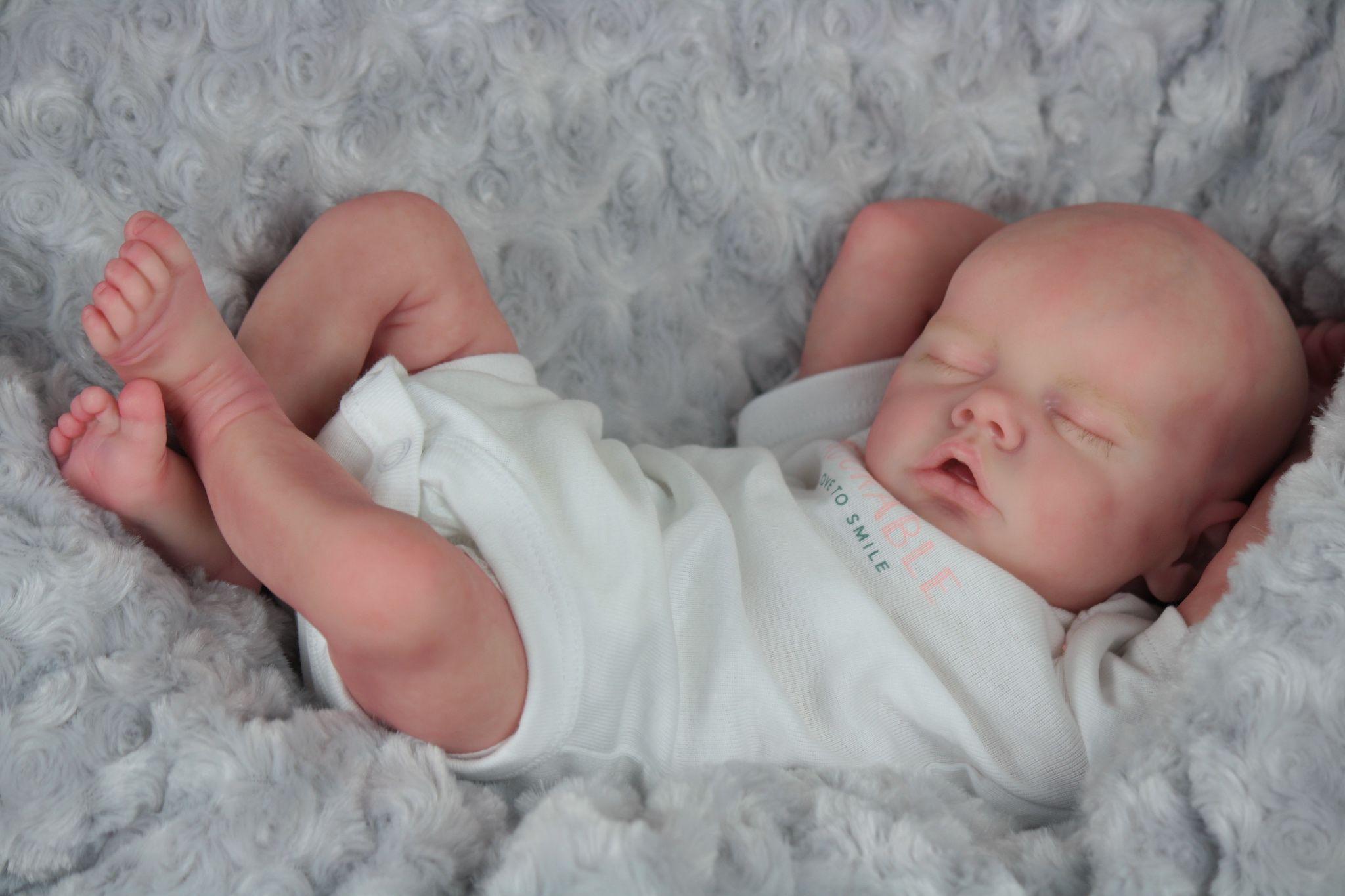 10Handmade Lifelike Baby Boy Doll Silicone Vinyl Reborn