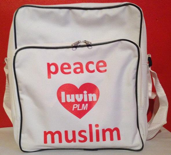 Peace Heart Gym Bag
