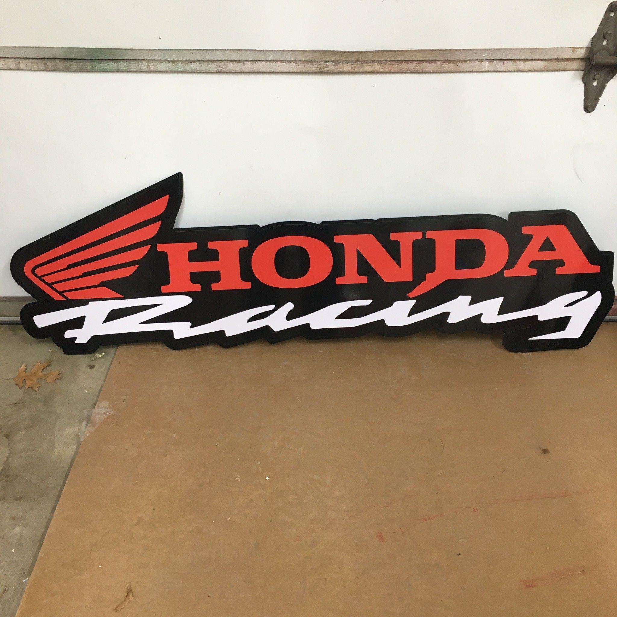 Birthday Present for Men or Women Parking Sign Gift for Honda Owner