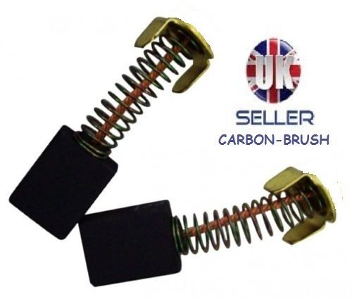 2 Pair Of Power Tool Drill Carbon Brushes Replacement Part For Evolution Rage 3