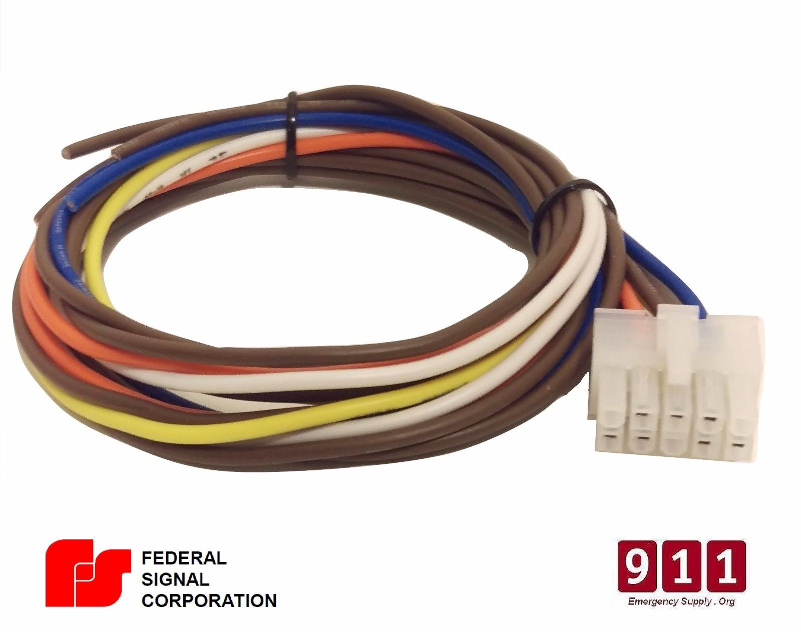 [SCHEMATICS_4UK]  Federal Signal Siren Power Harness 10 Pin Cable PA300 690000 | Federal Pa300 Siren Wiring Diagram |  | 911 Emergency Supply