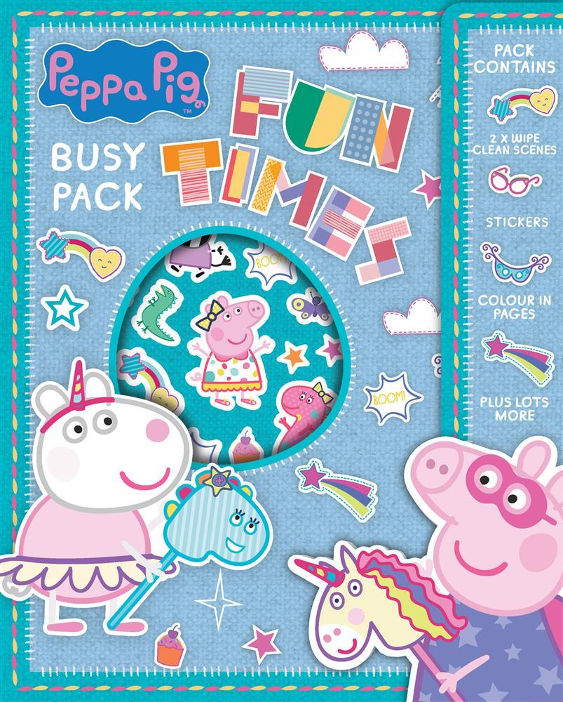 Peppa Pig Busy Packs | Wholesale Craft Supplies | Kids Gifts