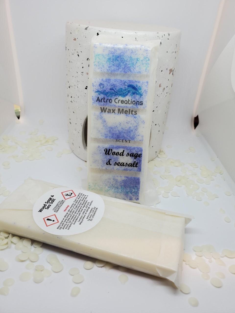 Woodsage /& Sea Salt Wax Melts
