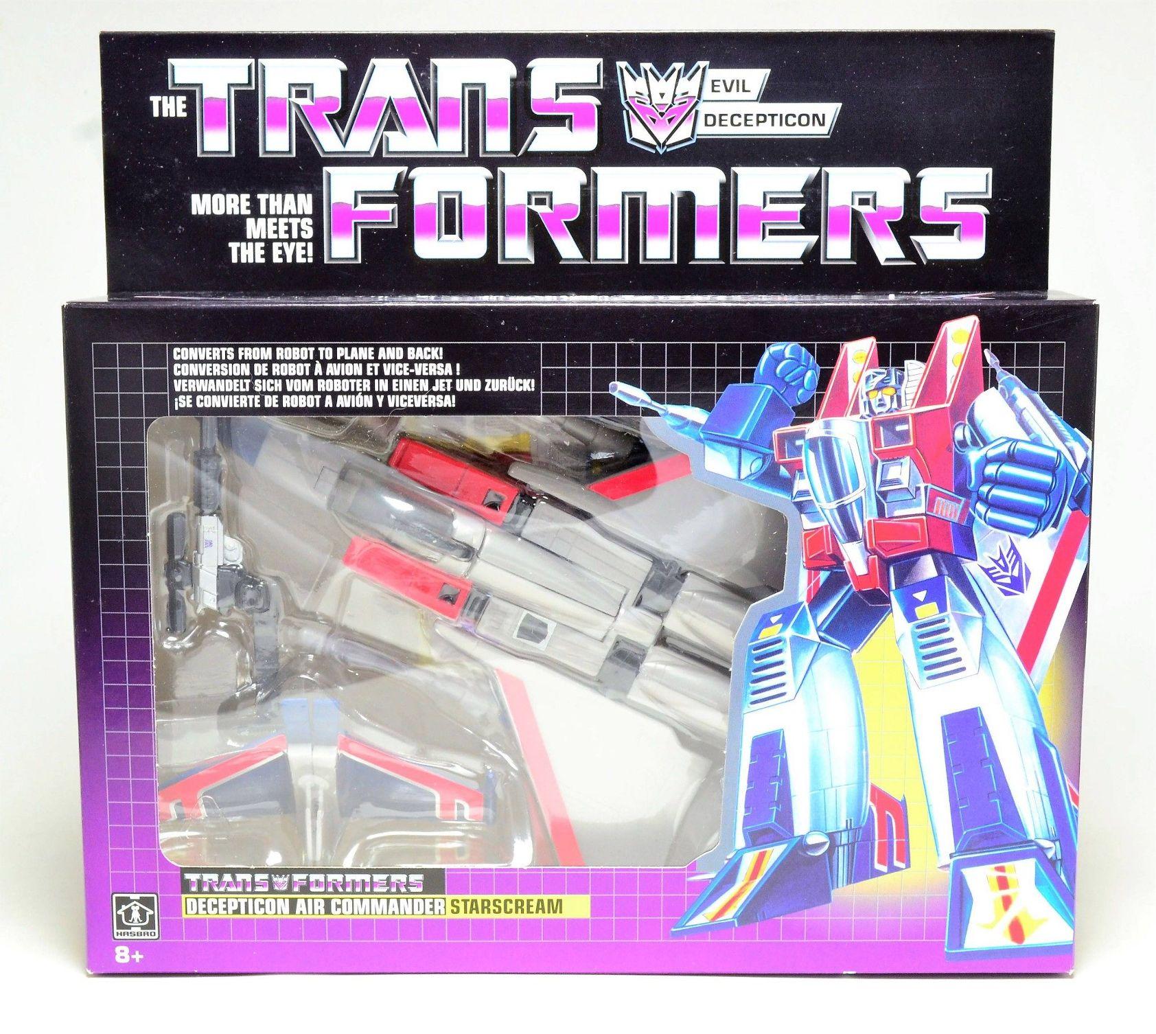 Transformers E2054 Vintage Exclusif G1 Starscream Action Figure Toy
