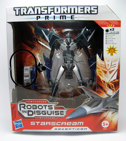 Transformers Prime STARSCREAM  RID Robots In Disguise Voyager