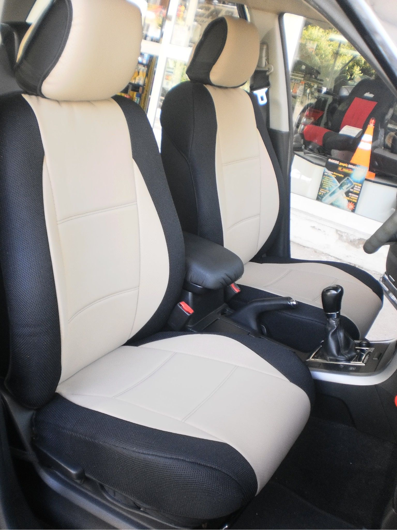 CAR SEAT COVERS FOR HONDA HRV HR-V FULL SET GREY VELOURS