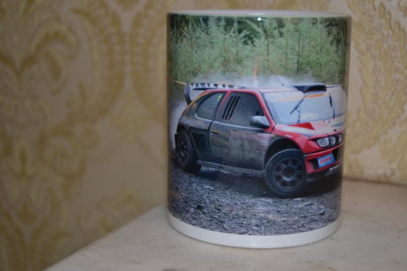 escalar buffet Elegibilidad  Andy Burton Peugeot Cosworth Rally Car 11oz ceramic mug