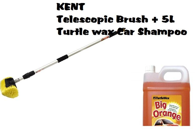 Kent Q4397 Extra Long Telescopic Brush 5ltrs Turtle Wax