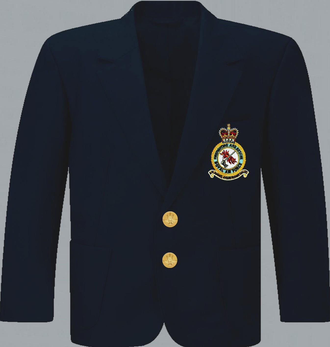 New Lancashire Embroidery  R.A.F Blazer Badge