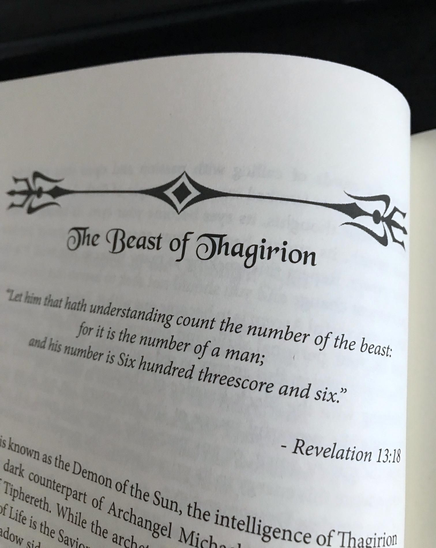 Liber Thagirion by Asenath Mason