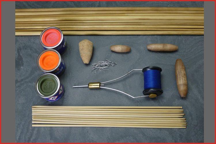 Basic. DIY fishing float making kit