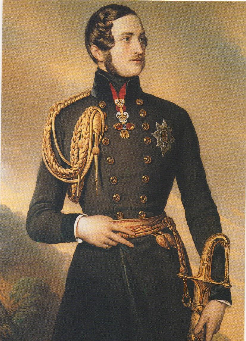 Picture postcard QPrince Albert 1846