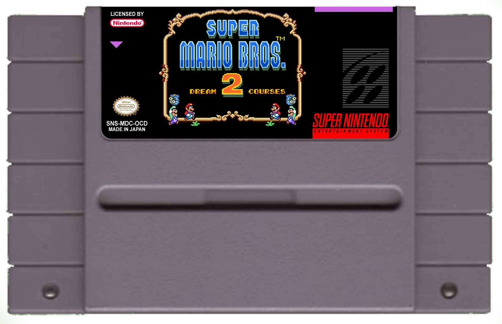 Super Mario Bros 2 Dream Courses