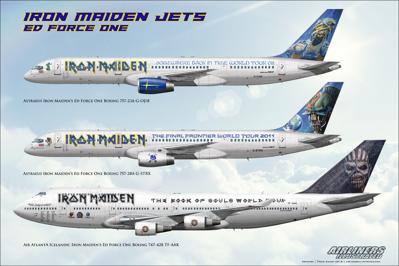 ed force one neben air force one