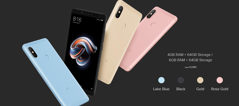 Xiaomi Redmi Note 5 Lte 64 Gb