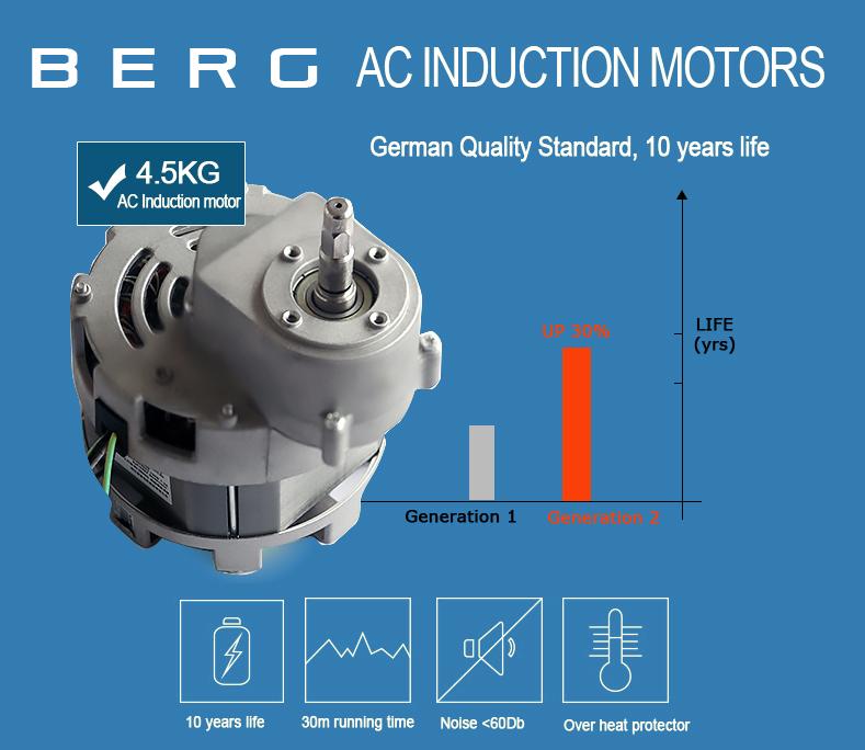 BERG J PRO SLOW WHOLE MASTICATING 250W