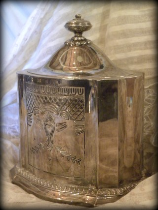 Godinger Silver Art Company Gsa Tea Caddy