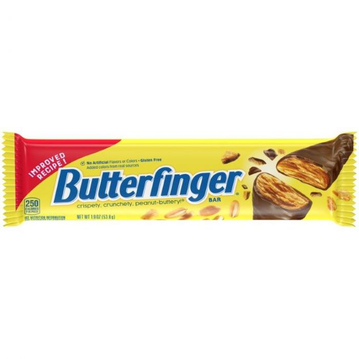 Nestle Butterfinger Bar American Chocolate Candy