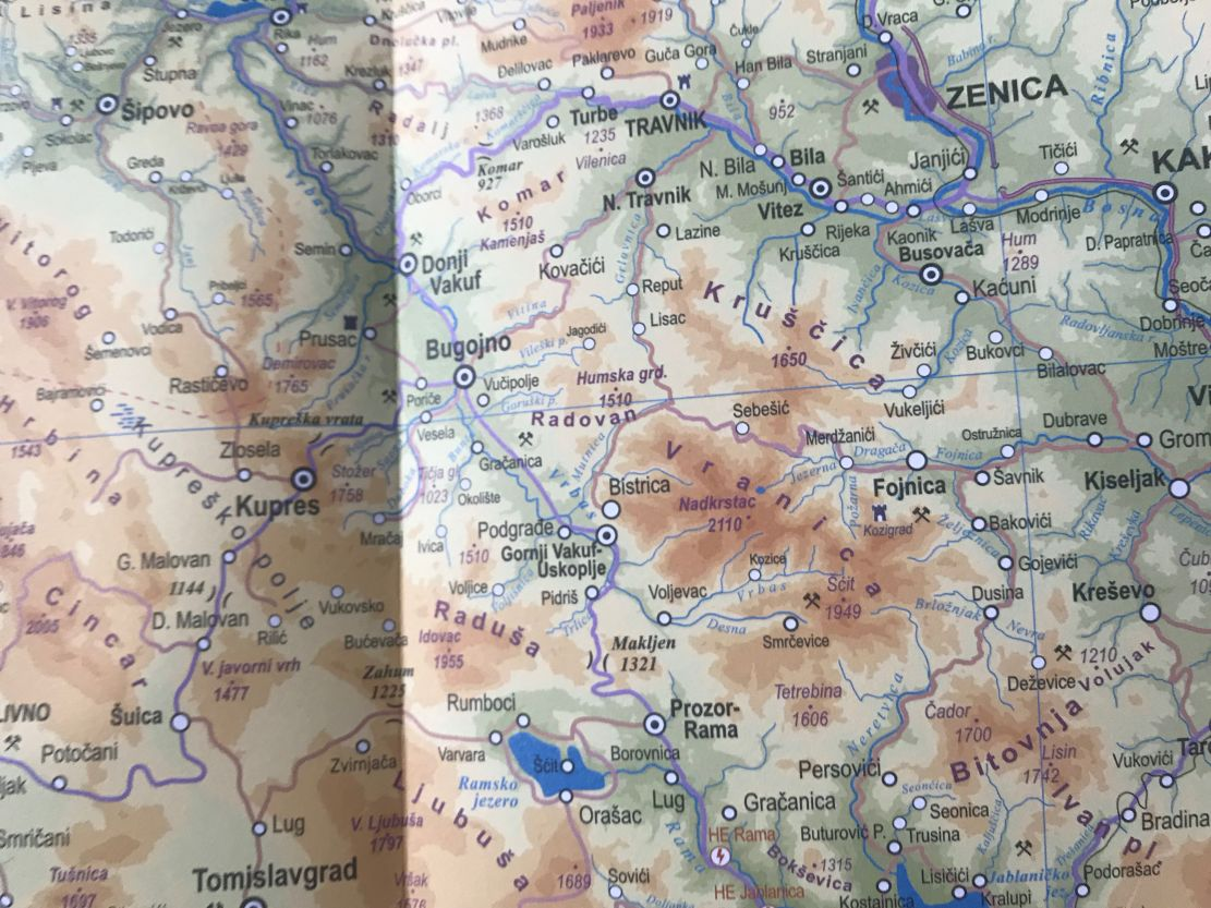 Karta Srbije Guca Superjoden