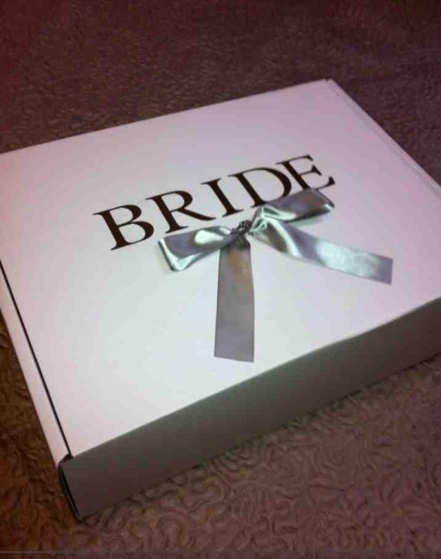 Bride Large Wedding Dress Box