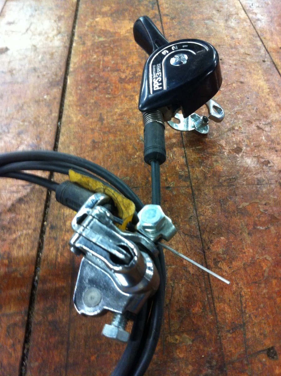 NOS Vintage Bicycle Shimano Positron Shifter Cable and Bell Crank