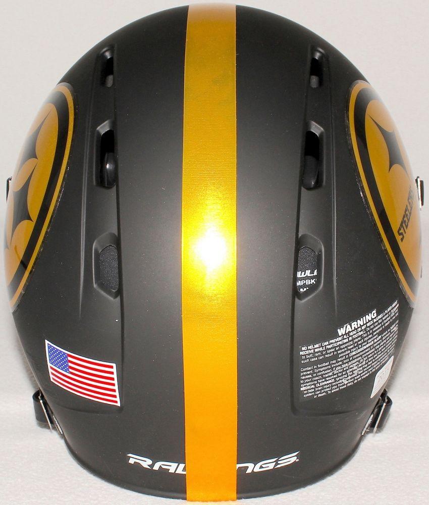 "Yellow Chrome 1"" Full Size Football Helmet Stripe Decal 20 Mil High Quality."