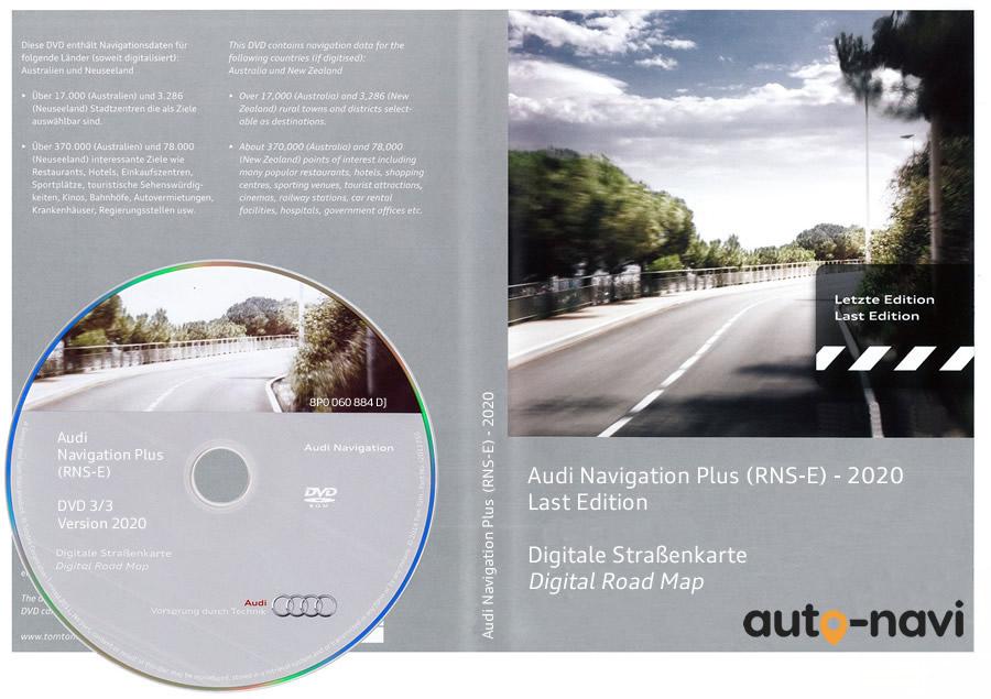 AUDI Navigation Plus RNS-E Version 2020 8P0060884DJ