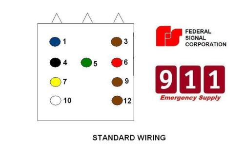 Pa 300 Siren Wiring Chart - number one wiring diagram sources Federal Siren Controller Wiring Diagram on