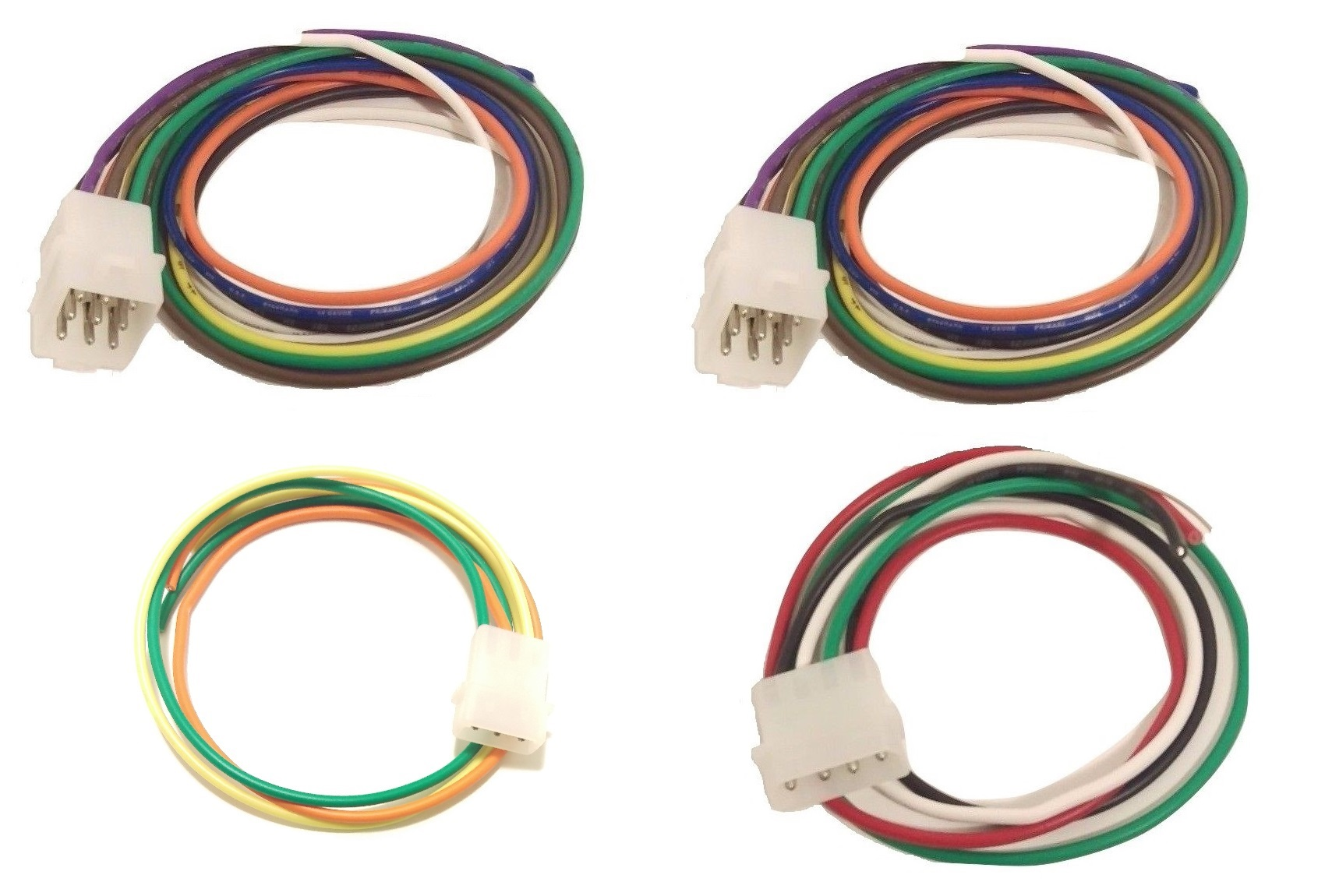 Whelen Power Harness Plug Cable 9 Pin X 2, 3 Pin, 4 Pin TACTL6 on