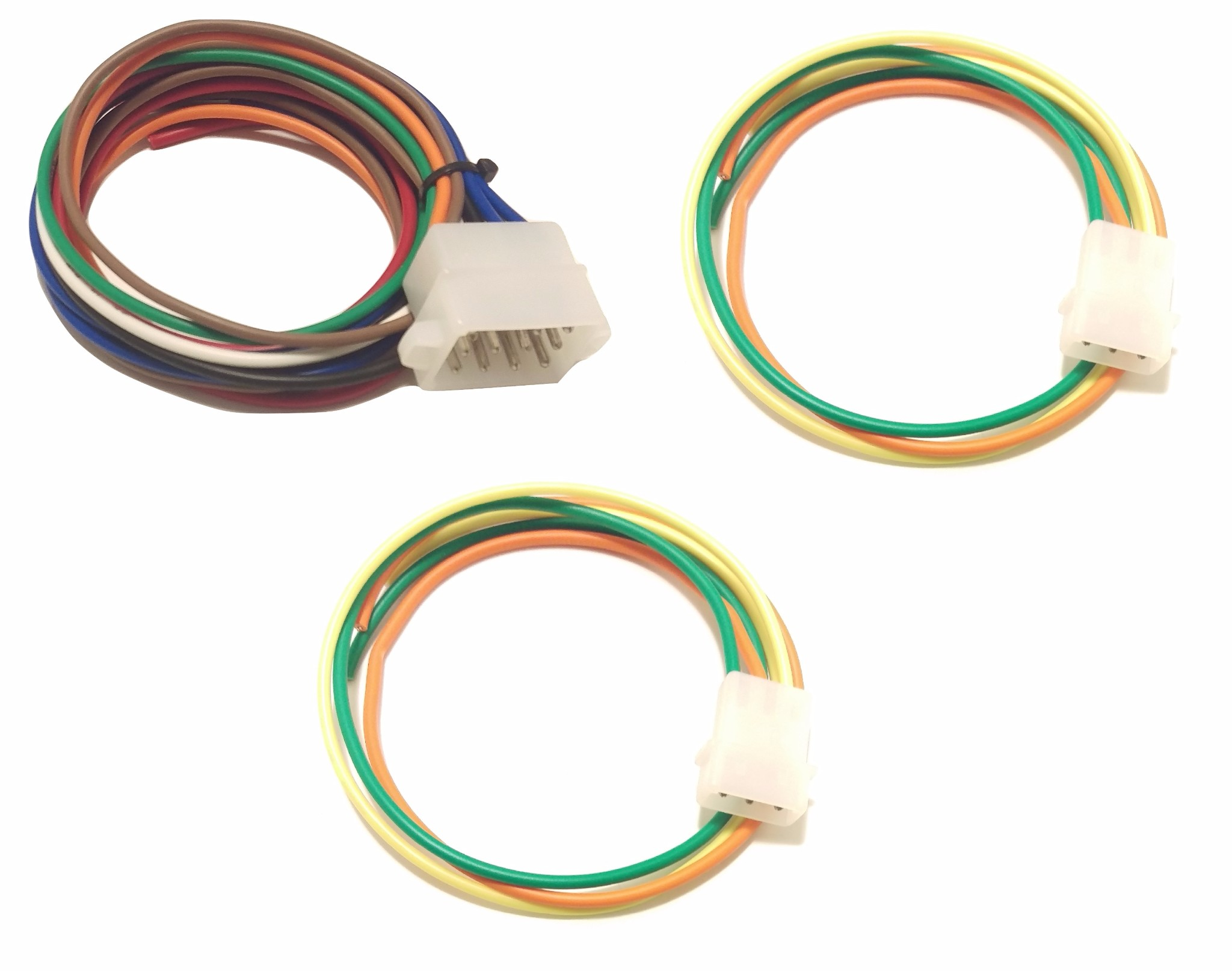 Whelen Power Harness Plug Cable 3 Pin x 2 & 12 Pin TAM83 on
