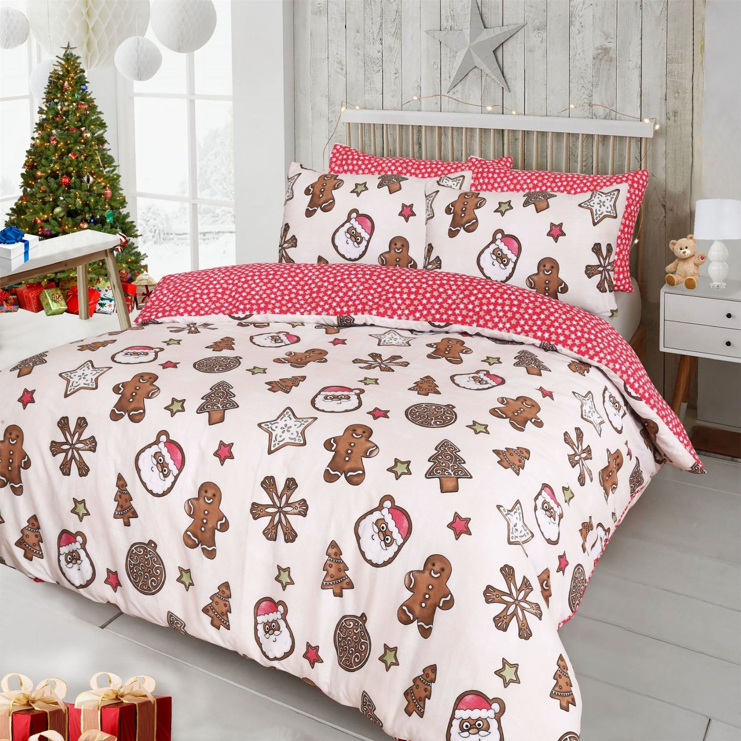 Christmas Bedding.Christmas Bedding Free Delivery