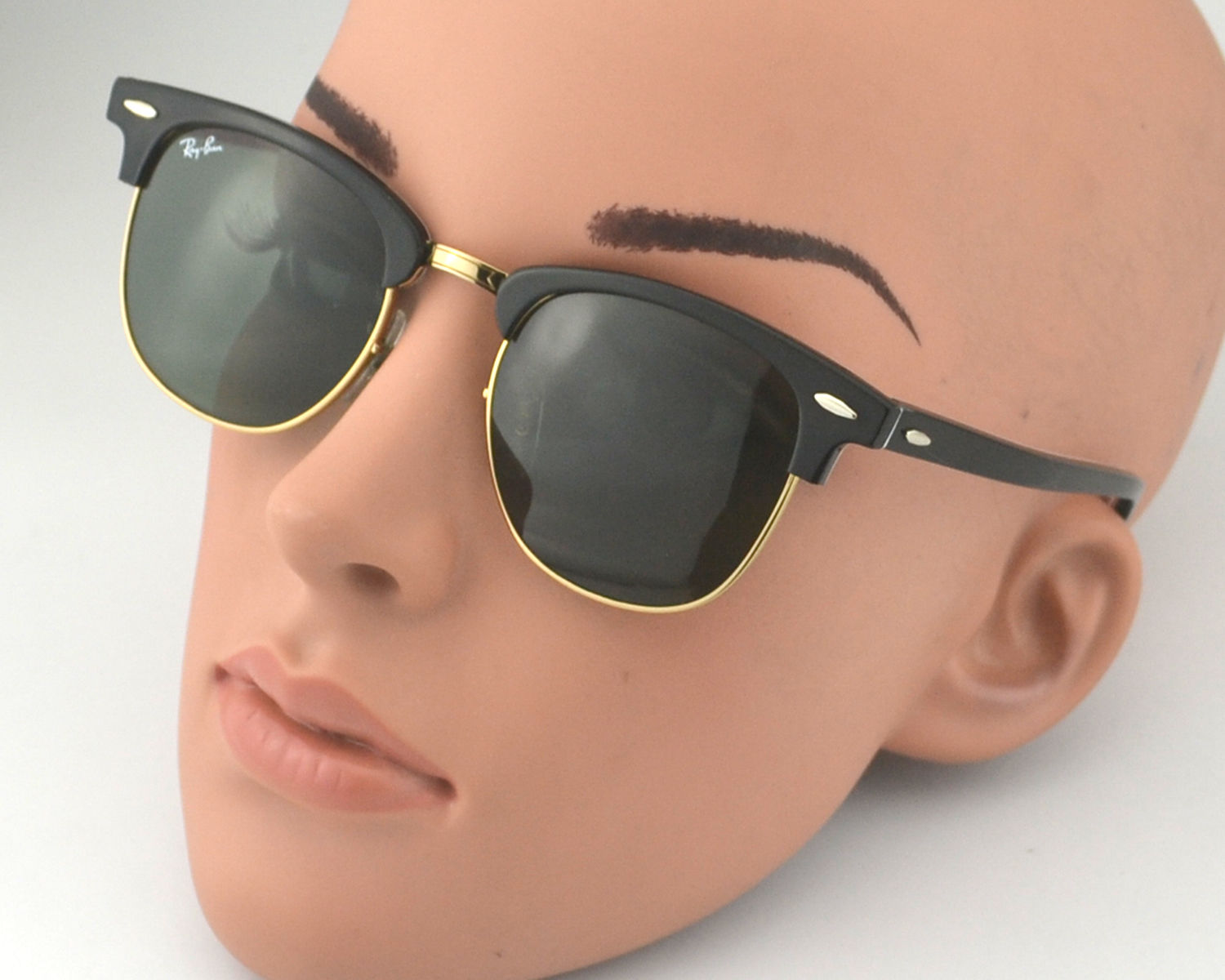 ray ban clubmaster gold frame