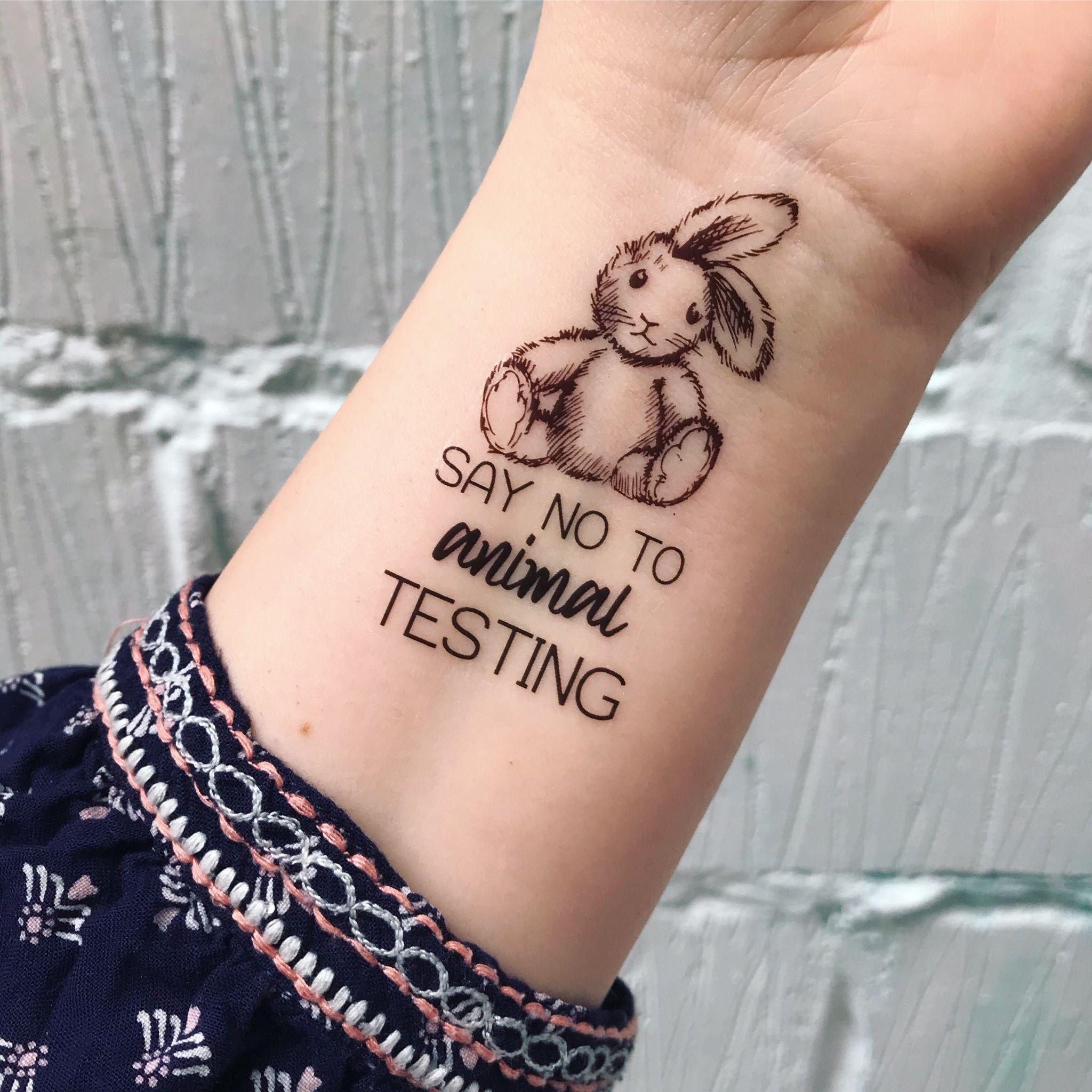 Vegan Love Temporary Tattoo Set Vegan Tattoo Vegan Temporary Tattoos Vegan Gift Vegan Gift Idea