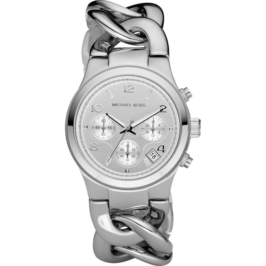 comprare on line consegna gratuita ottenere a buon mercato Michael Kors Chronograph Chain Bracelet Ladies Watch MK3149