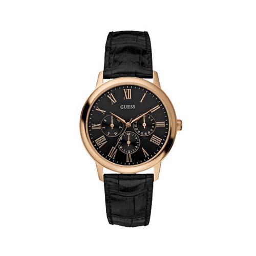 lucentezza adorabile più foto il più economico Guess Men's 'WAFER' Rose Gold Tone Black Dial Watch - W85069G1