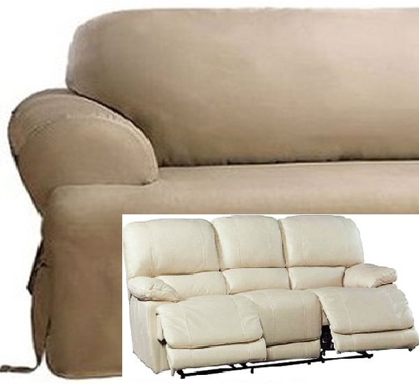 Prime Dual Reclining Sofa Slipcover T Cushion Cotton Taupe Sure Fit Couch Ibusinesslaw Wood Chair Design Ideas Ibusinesslaworg