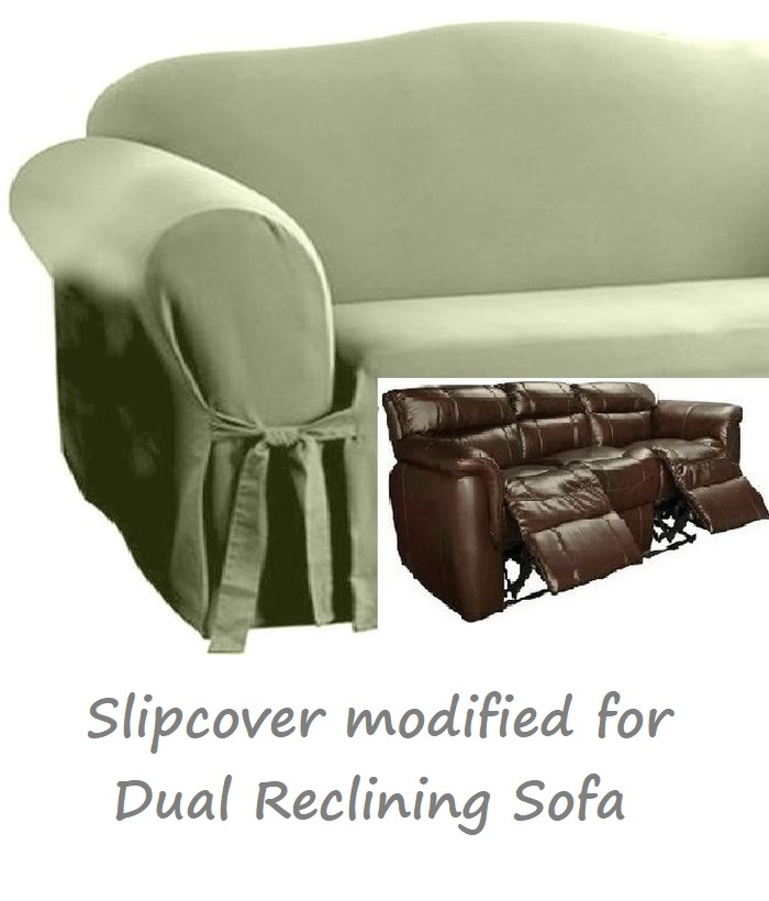 Super Dual Reclining Sofa Slipcover Cotton Sage Green Sure Fit Couch Cover Ibusinesslaw Wood Chair Design Ideas Ibusinesslaworg