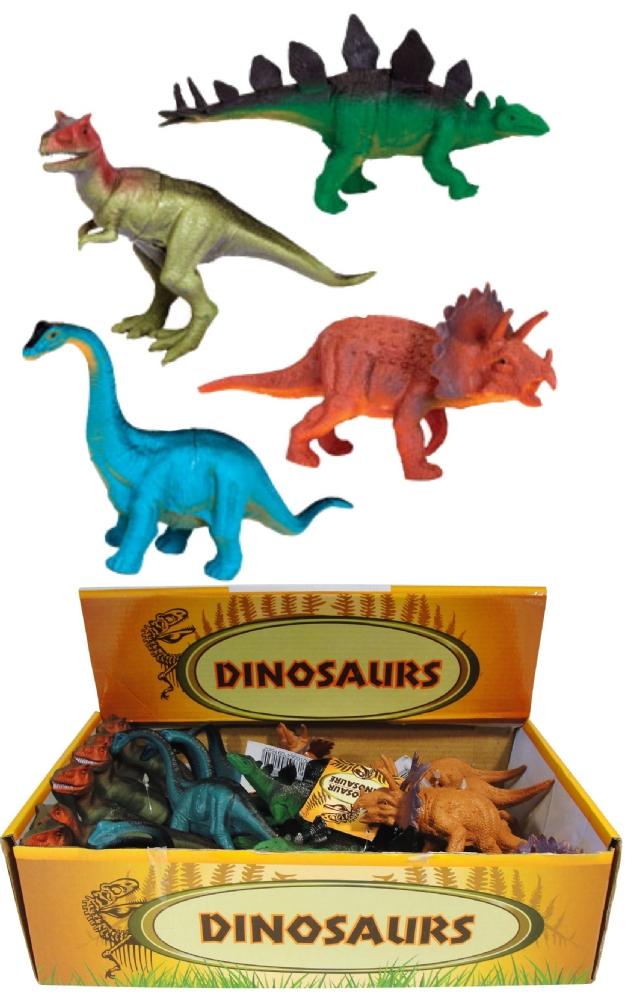 24x Dinosaur Gliders 4 Assorted Designs