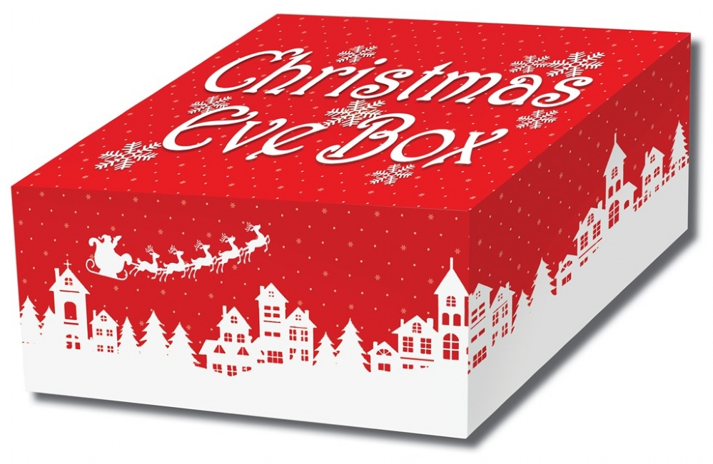 Christmas Boxes.12 X Traditional Design Christmas Eve Boxes