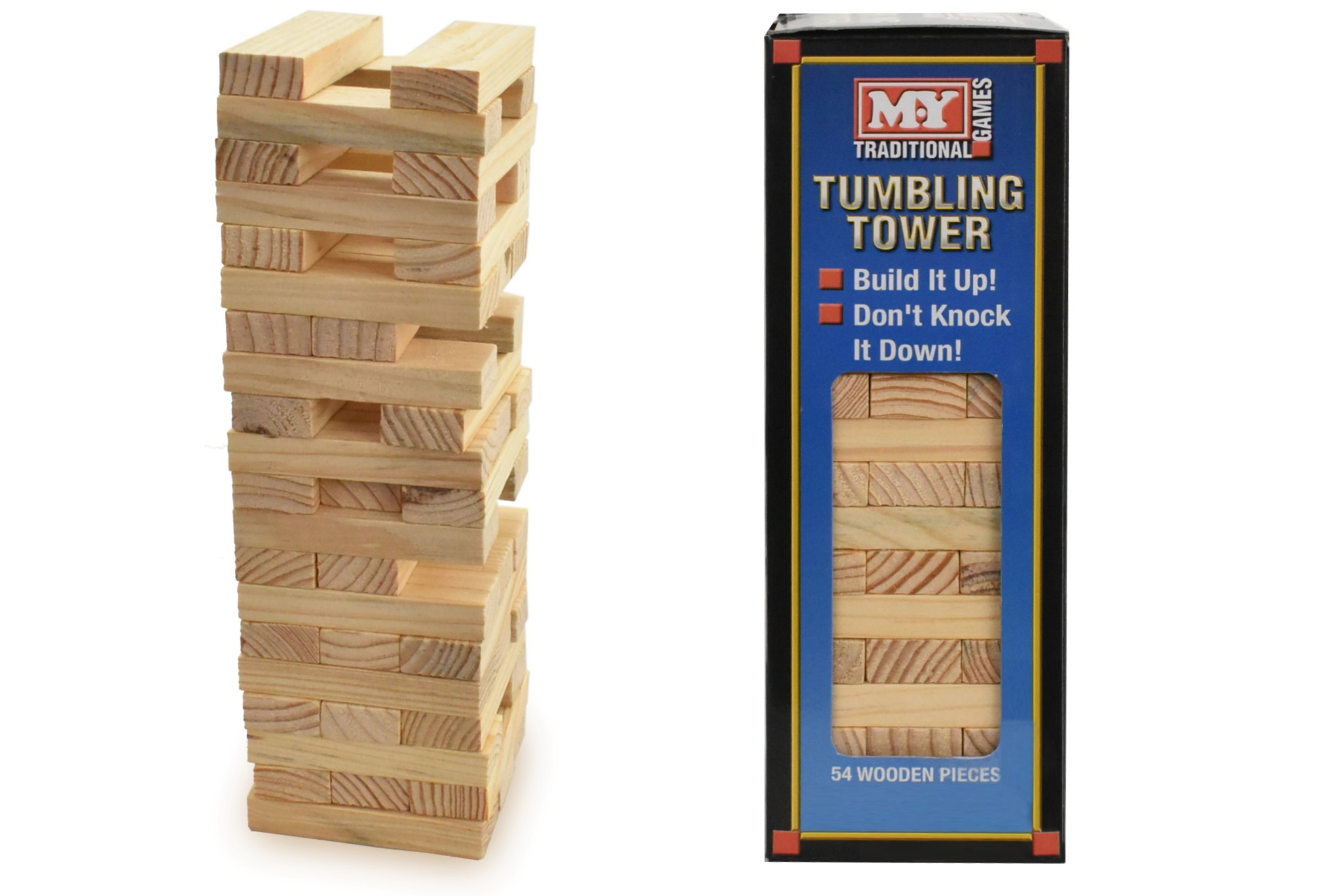 TOWER TRADITIONAL WOODEN GAME PUZZLE