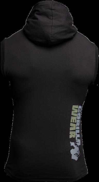 Gorilla Wear Melbourne Sleeveless Hooded T Shirt Homme