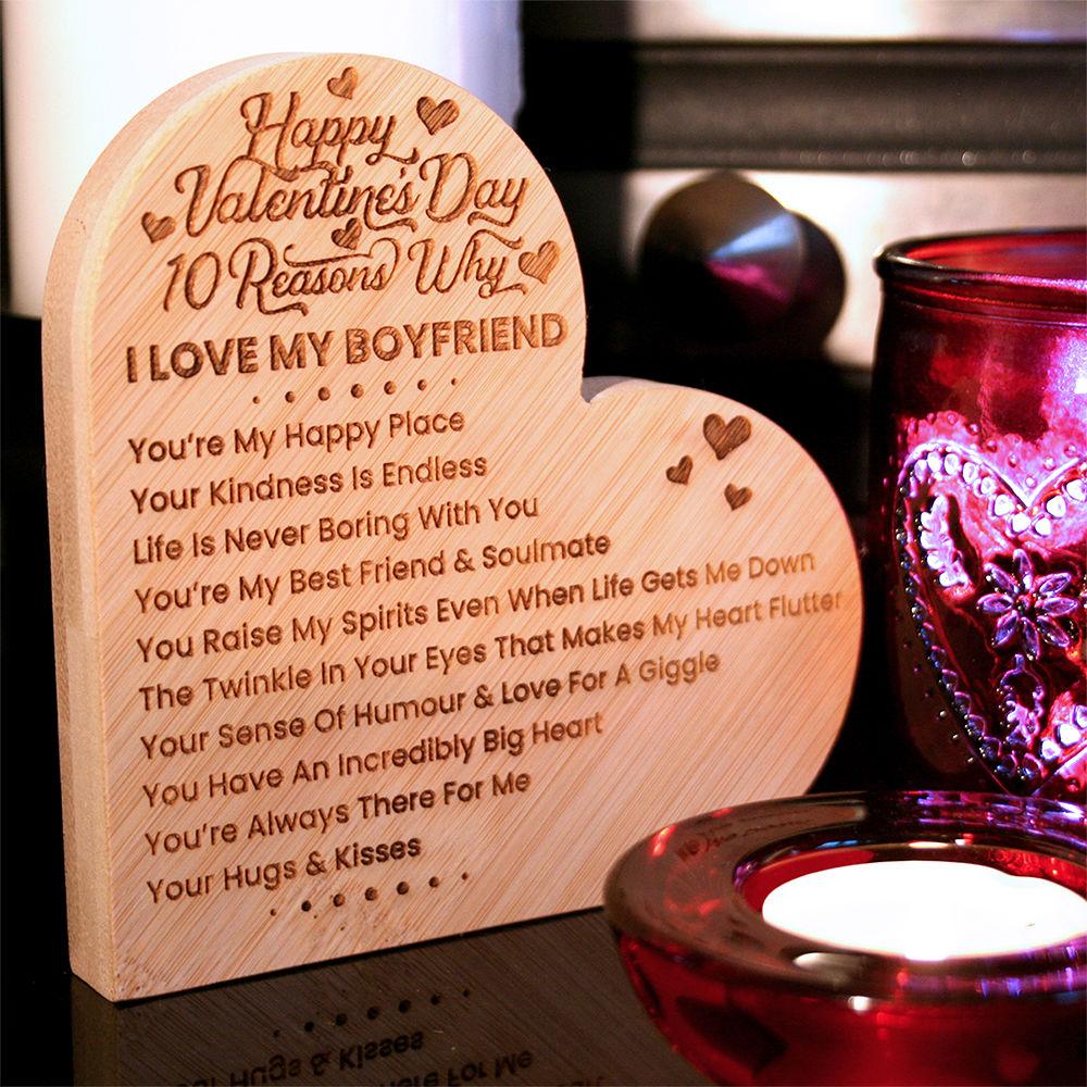 Personalised Valentine S Day Gift For Her Him Wife Husband Girlfriend Boyfriend Fiance Fiancee Soulmate Bestie