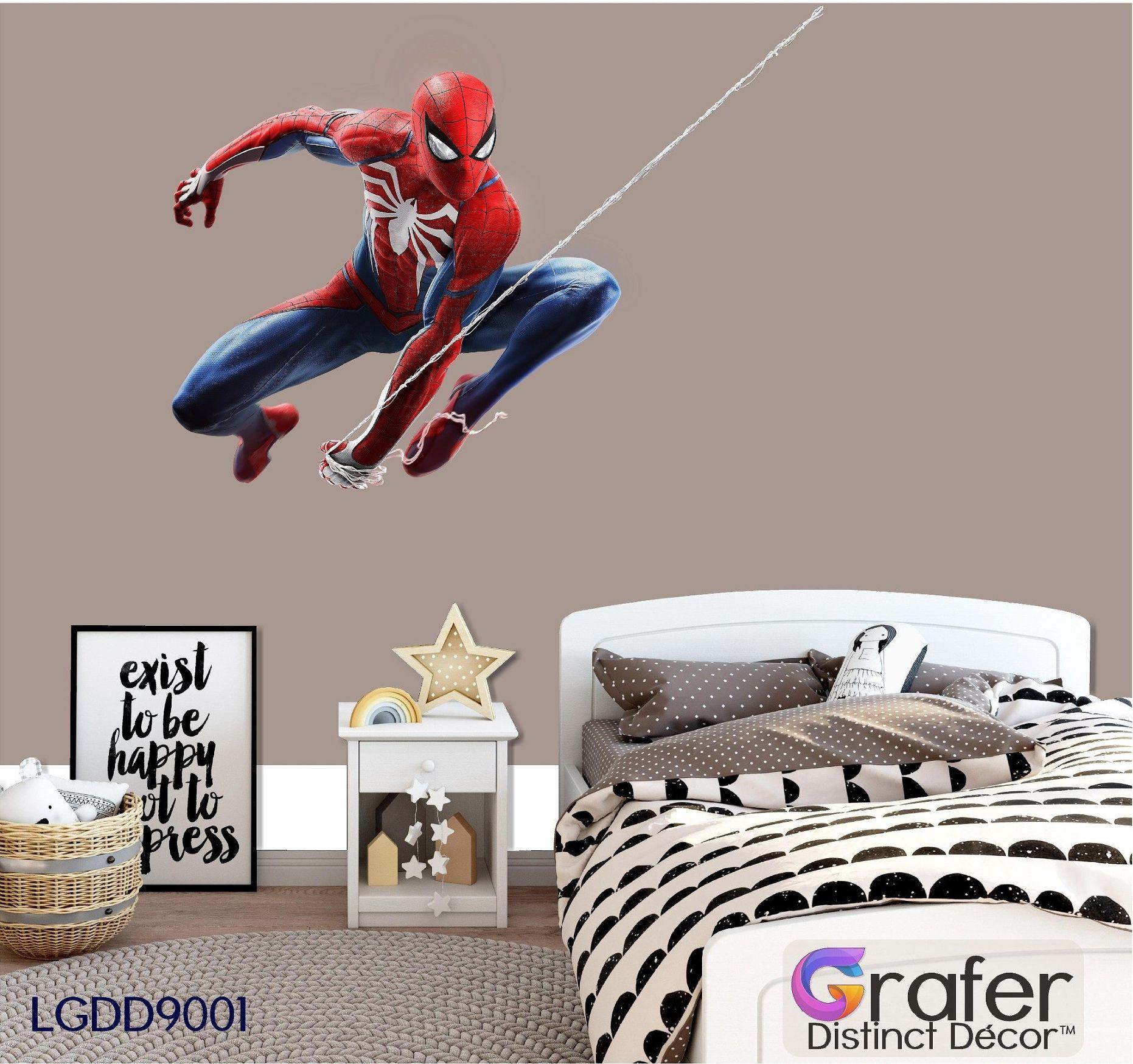 Amazing Spider Man Decal Marvel Comics Comic Hero Decal Wall Art