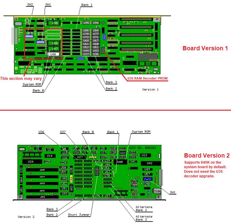 Compaq Portable 640K U35 RAM Decoder PROM