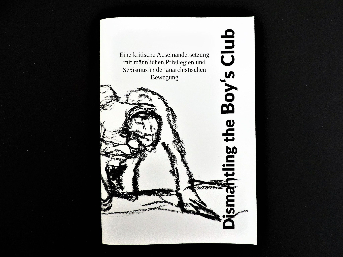 Dismantling the Boy's Club | Zine A5 | deutsch