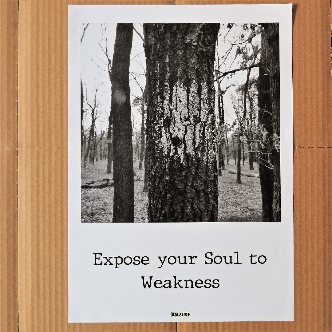 Expose your Soul to Weakness | A5 Poster